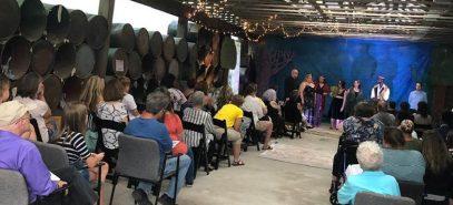 Opening night of A Midsummer Night's Dream. July 2019
